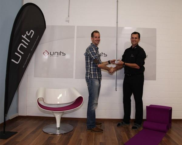 units Lounge & Dialog Wettbewerb Gewinner Ipod